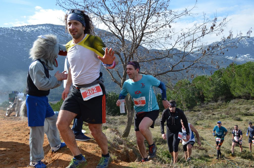 Λέβαδος αγώνας ορεινού τρεξίματος