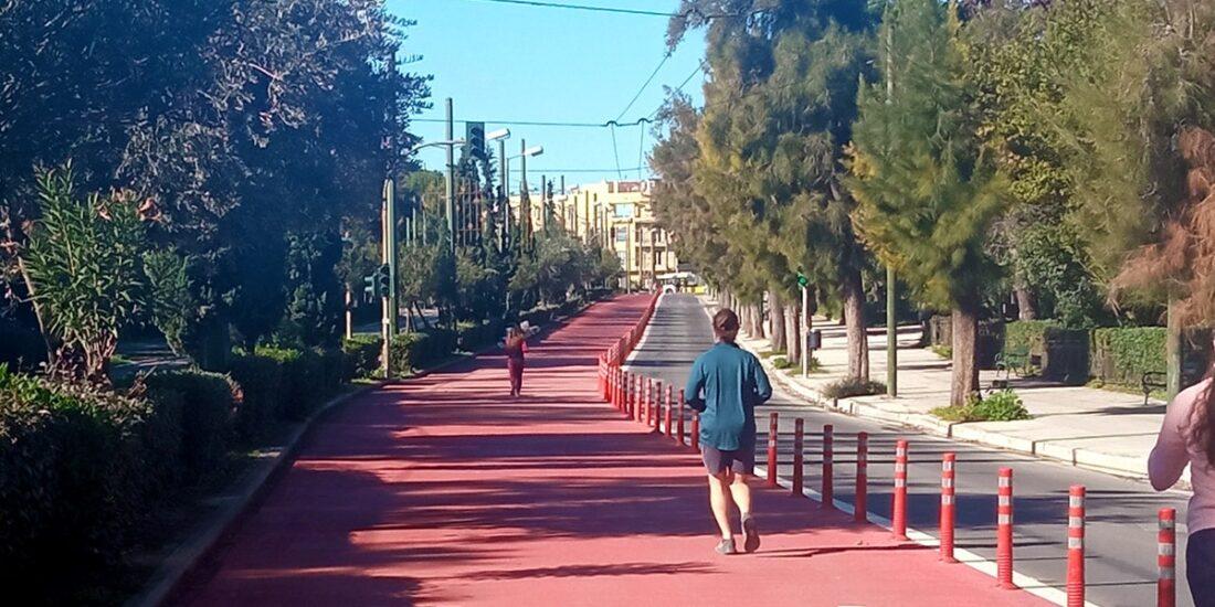 Τρέξιμο στην Αθήνα - Μεγάλος Περίπατος