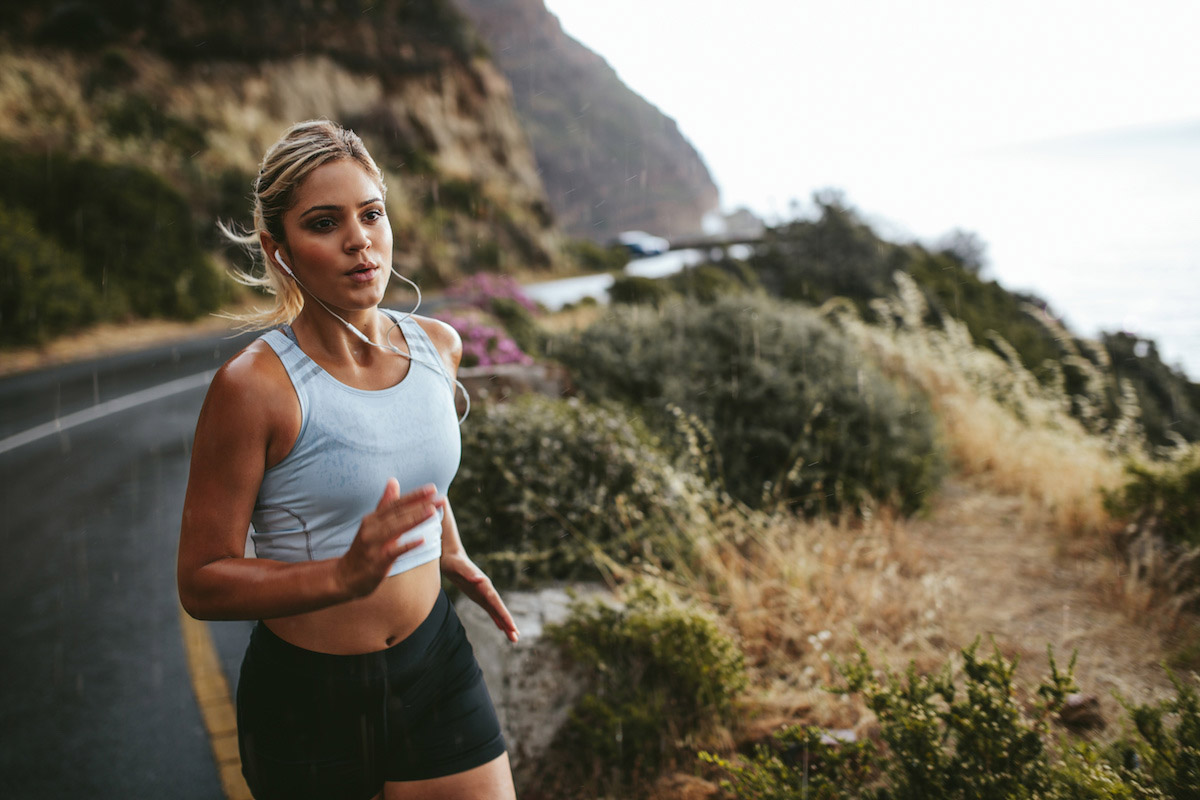 Breathing and Running
