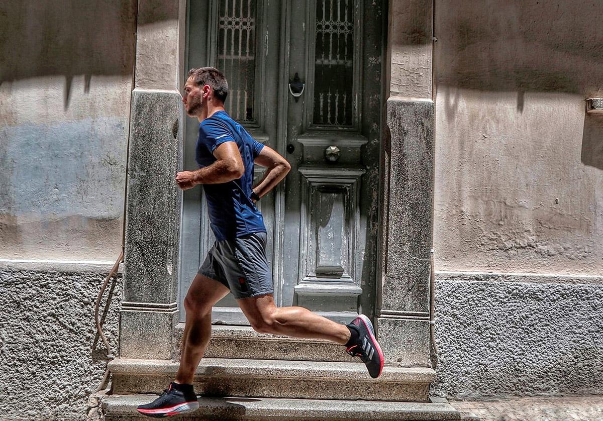 Ζήσης Πετσόπουλος adidas runners coach