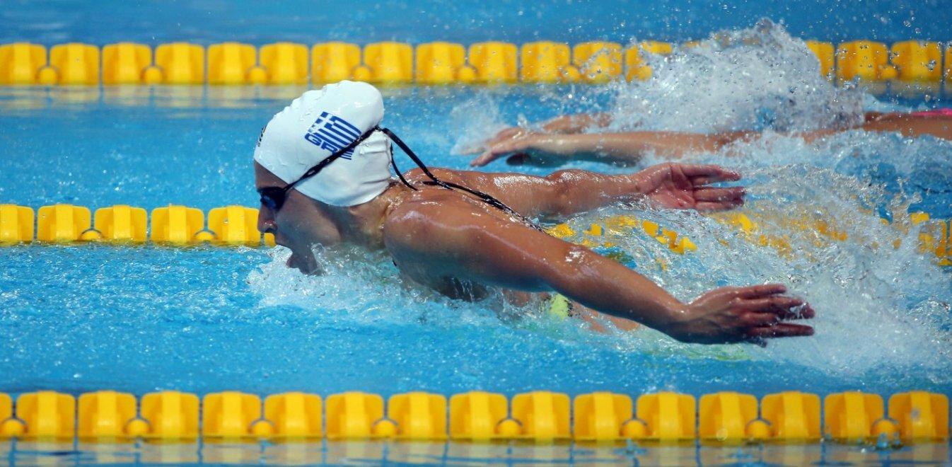 Άννα Ντουντουνάκη Κολύμβηση