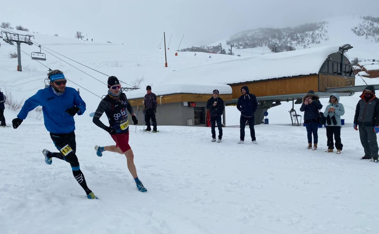 Ludovic Pommeret running winter