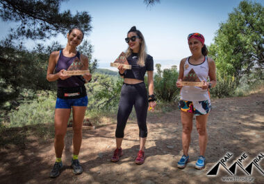 Trail Time Trial Υμηττός Απονομές Γυναικών