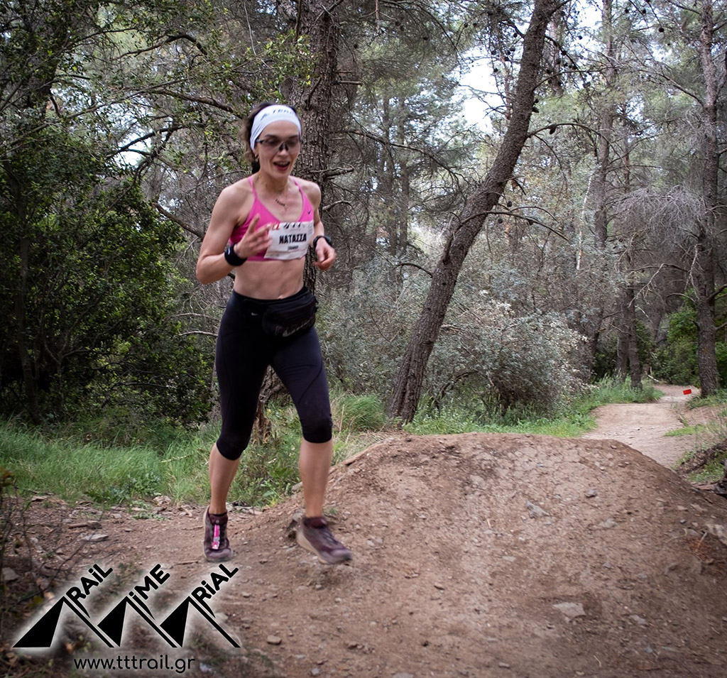 Trail Time Trial Υμηττός Νικήτρια