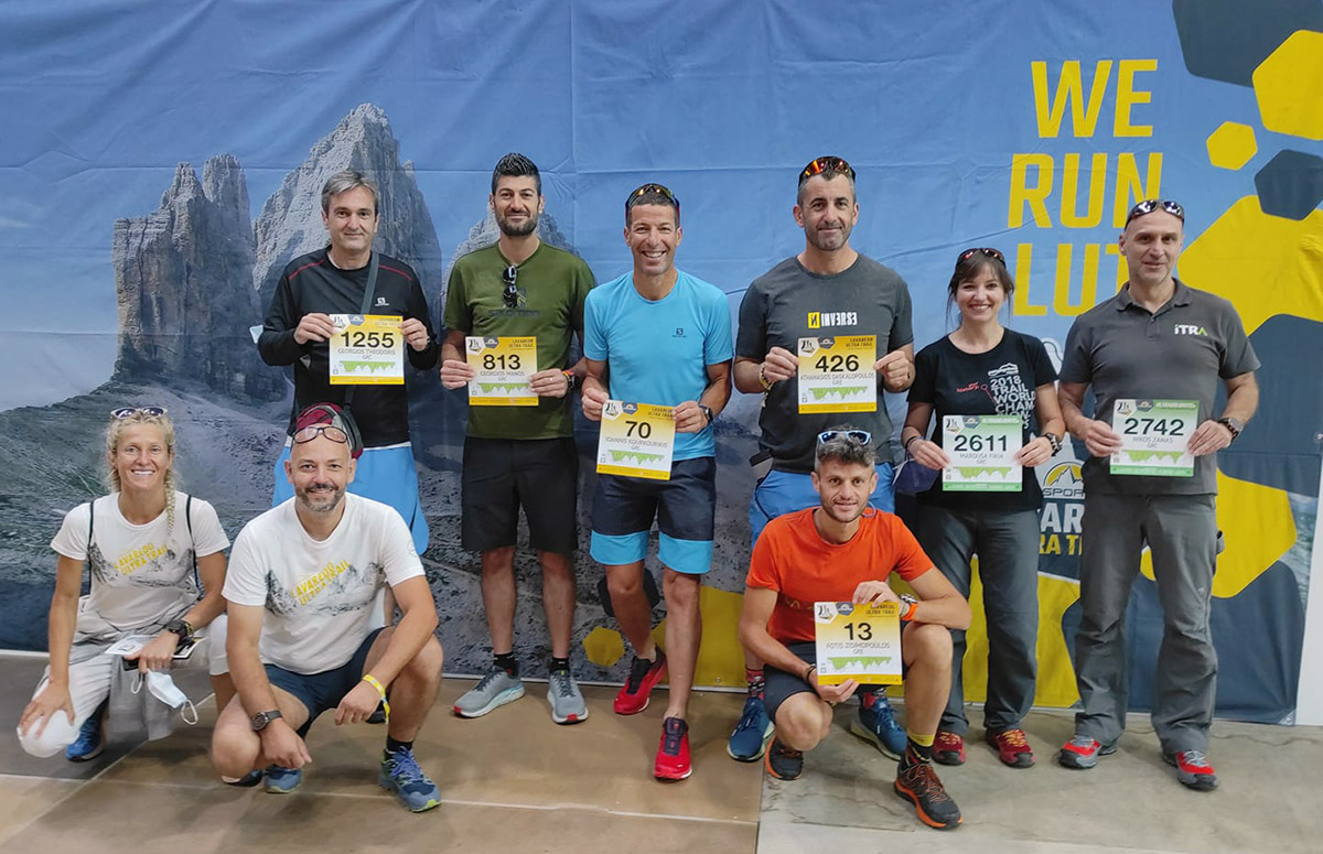 Lavaredo Ultra Trail 2021 Greek Team