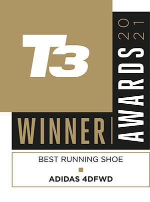 adidas 4DFW award best running shoe 2021 by T3