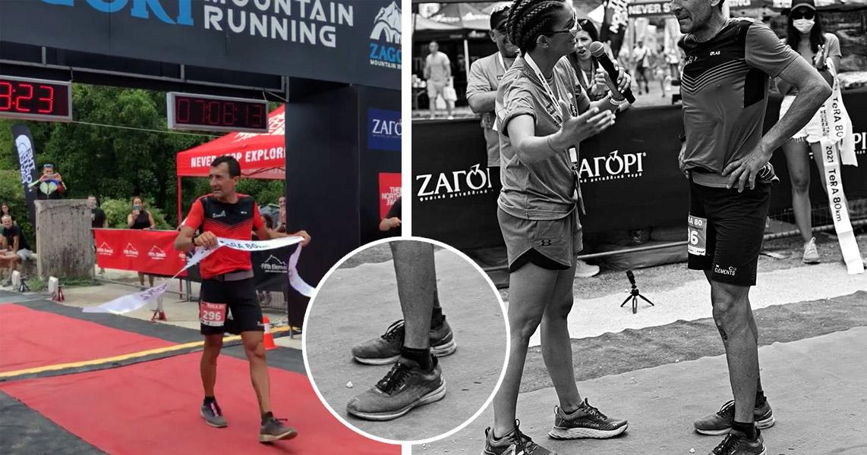 Miguel Heras Tera 80k Zagori Mountain Race 2021