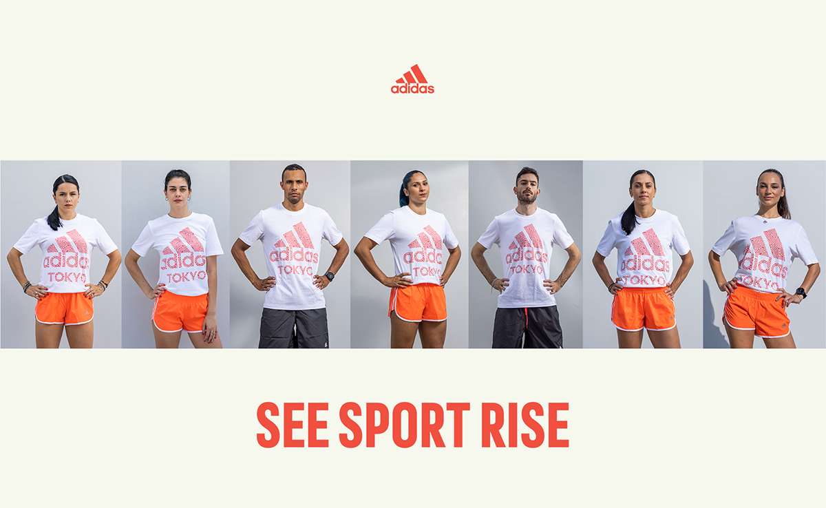 SEE SPORT RISE, adidas
