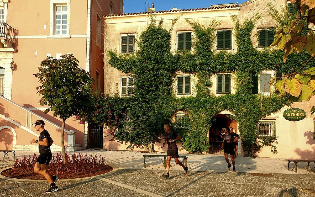 Corfu Old town trail