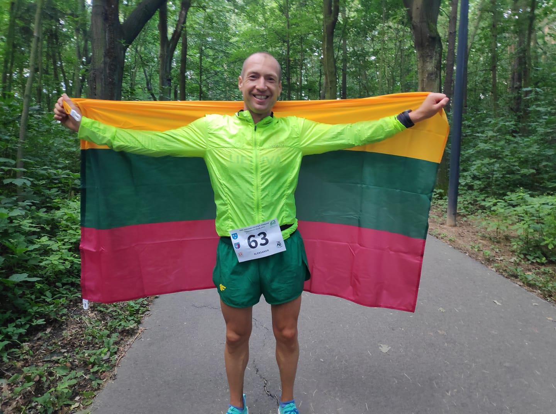 Aleksandr Sorokin 24hr World Champion