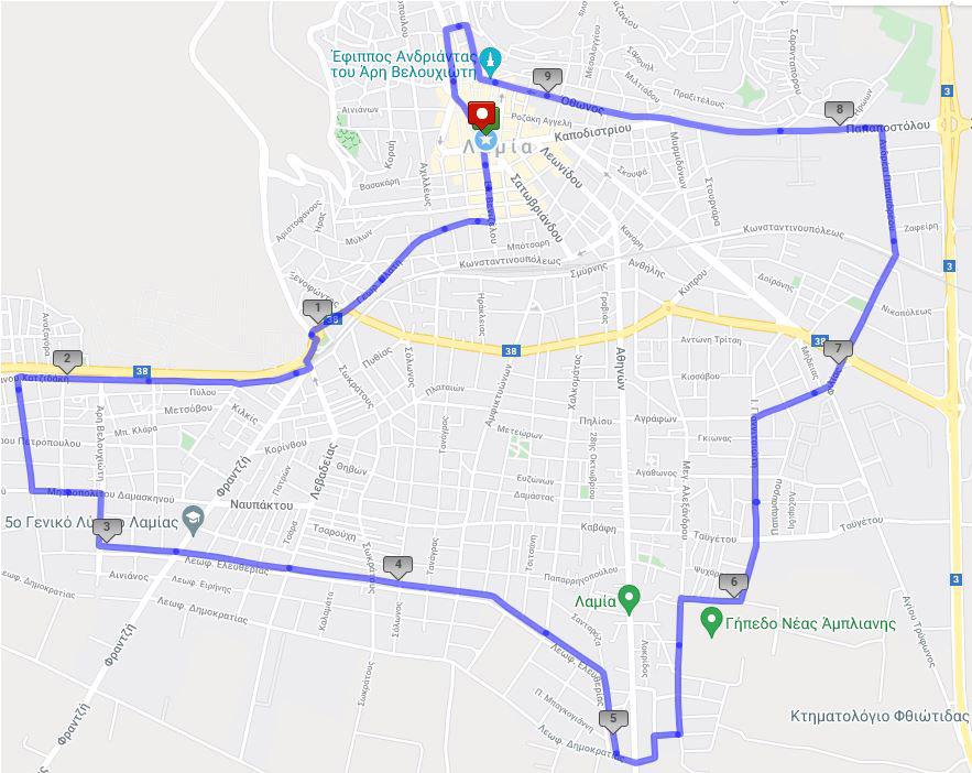 Lamia Night & Run 10Km