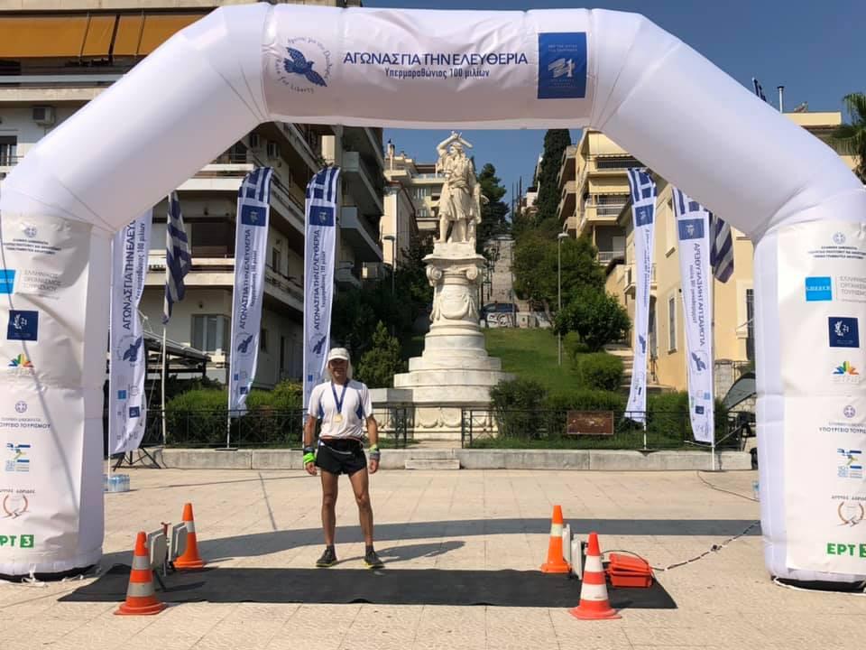 Race For Liberty Λαμία Νικητής 162 χλμ. Πασσαλίδης