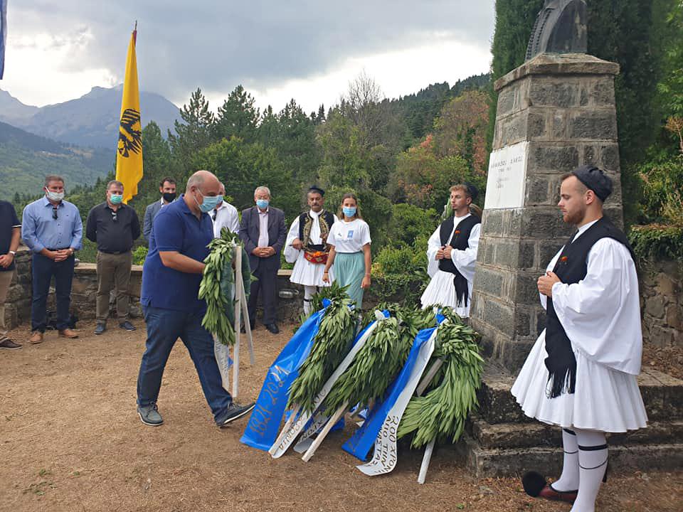 Τελετή έναρξης Αγώνα για την Ελευθερία στην Αρτοτίνα