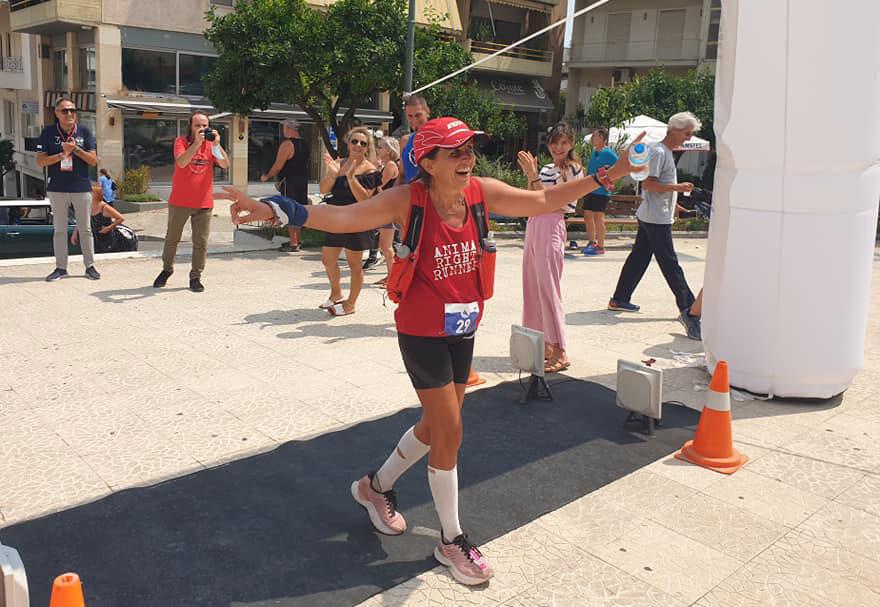 Λένα Τζίμα νικήτρια στα 162χλμ του Αγωνα για την Ελευθερία - Race for Liberty