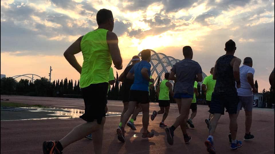 Training Long Run by Maria Polyzou