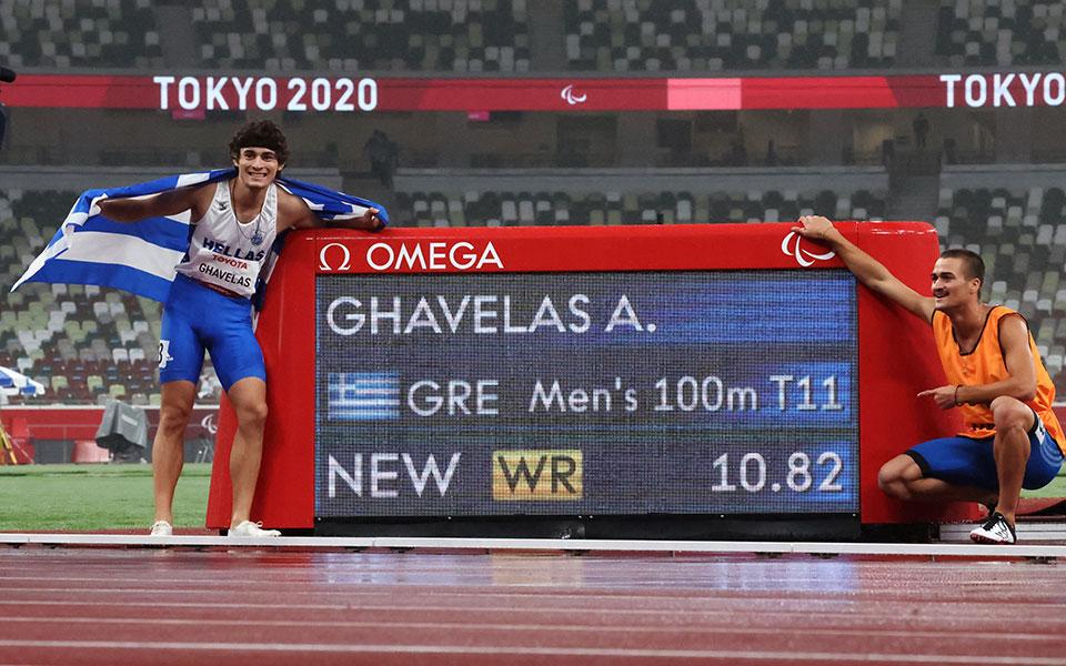 Θανάσης Γκαβέλας Χρυσό μετάλλιο Παραολυμπιακούς Tokyo2020