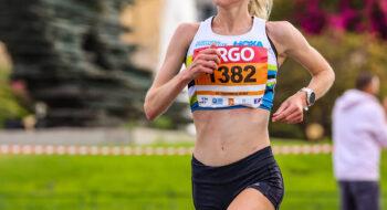 Alice Wright women's winner 2021 Athens Half Marathon