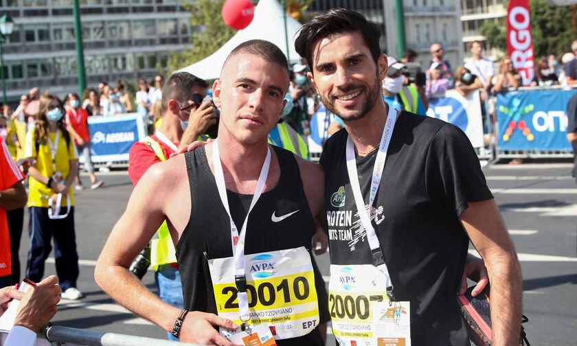 Νικητής 5 χλμ. Ημιμαραθώνιος Αθήνας 2021 Σταμούλης Γιώργος