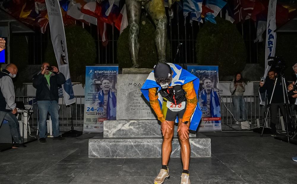 Fotis Zisimopoulos Spartathlon 2021