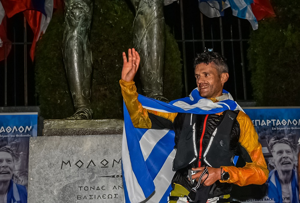 Fotis Zisimopoulos Spartathlon